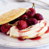 Cherries with Ricotta and Toasted Almonds