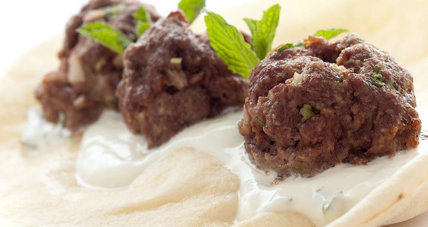 How to Create your Own Middle Eastern Bison Meatballs with Cilantro-Yogurt Sauce