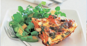 Potato and Spinach with Frittata